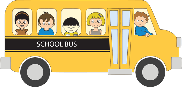 Kids in School Bus | Clipart library - Free Clipart Images