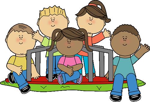 Kids on a Merry Go Round