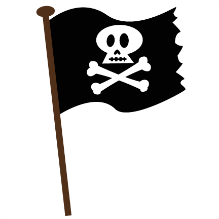 Kids Pirate Flag Pirate Svg Scrapbook File