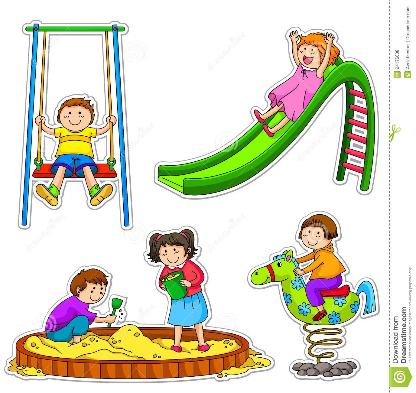Playground Clipart & Look At Clip Art Images - ClipartLook