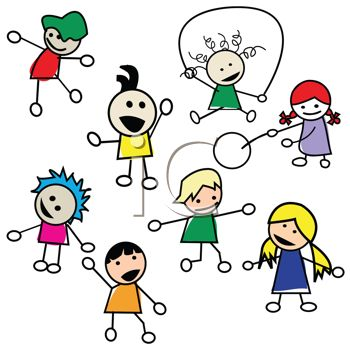 Kids Playing Summer Clipart | Clipart library - Free Clipart Images