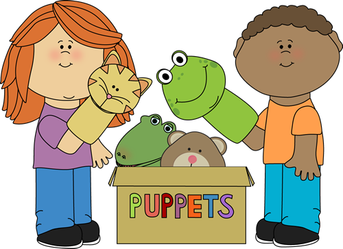 Kids Playing with Puppets-Kids Playing with Puppets-18