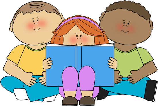 Kids Reading Clipart - usarmycorpsofengineers