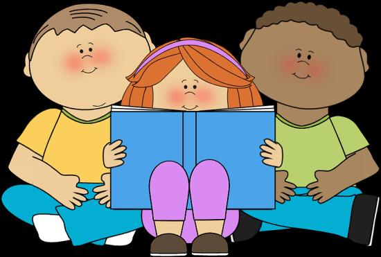 Kids Reading Clipart - Usarmycorpsofengi-Kids Reading Clipart - usarmycorpsofengineers-9