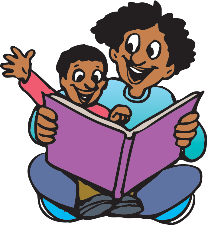 Kids Reading Together Clipart Clipart Panda Free Clipart Images