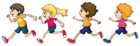 Kids Running Clip Art Site About Children