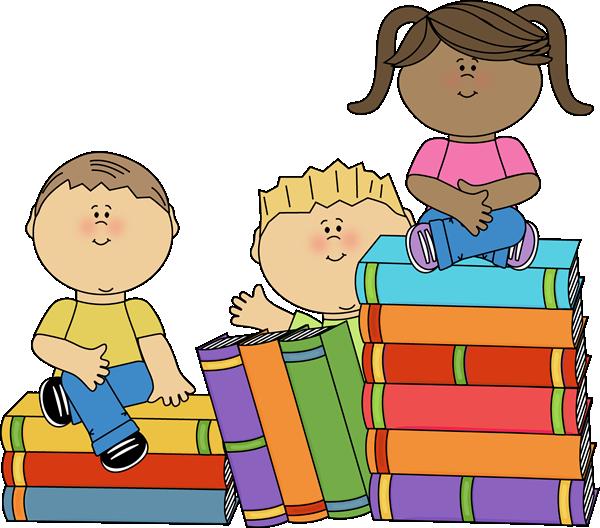 Kids Sitting on Books-Kids Sitting on Books-9