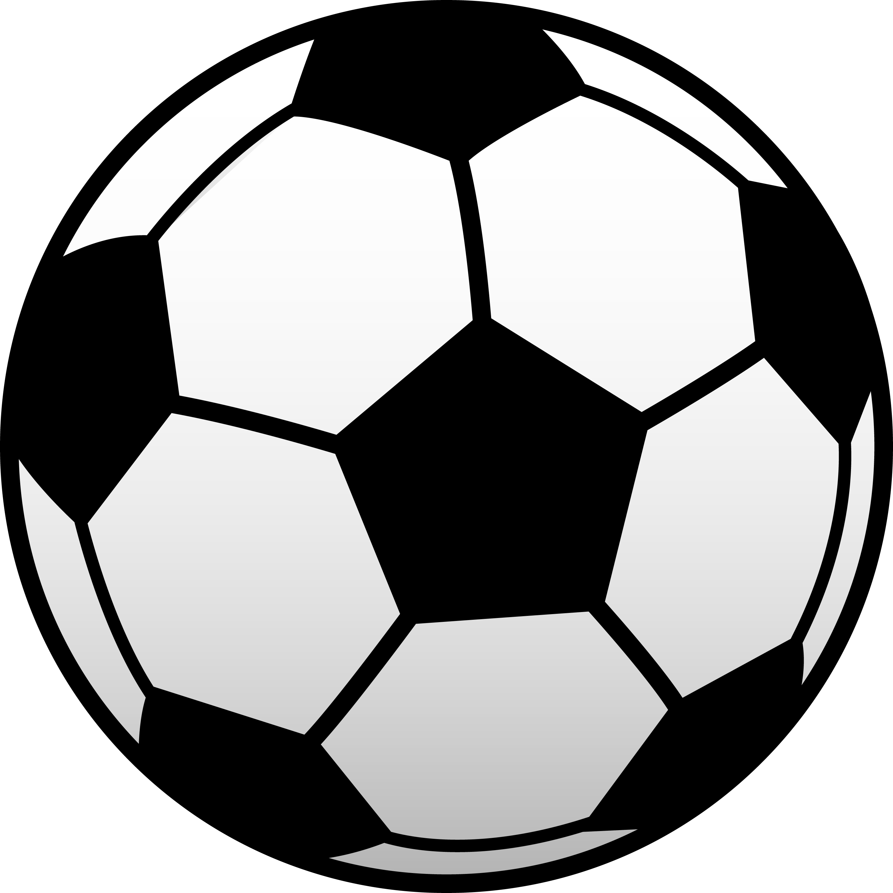 Kids Soccer Ball Clip Art