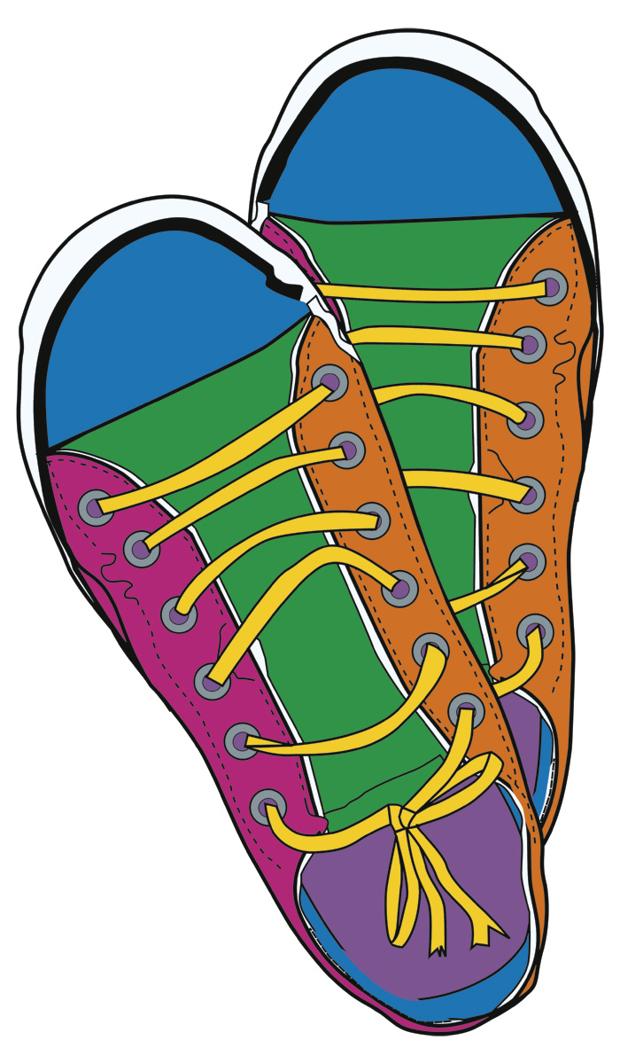 Kids Tennis Shoes Clipart-Kids Tennis Shoes Clipart-4