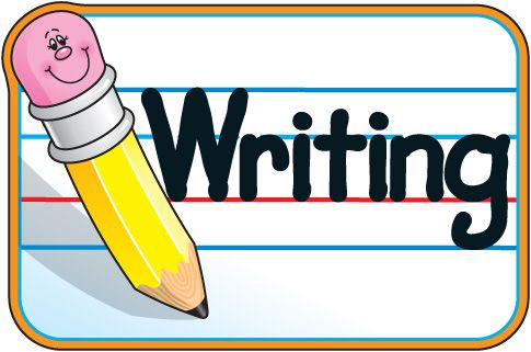 Kids writing clipart-Kids writing clipart-6