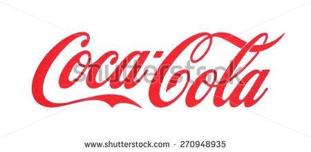 KIEV, UKRAINE - MARCH 31, 2015: Coca-Cola logo printed on paper