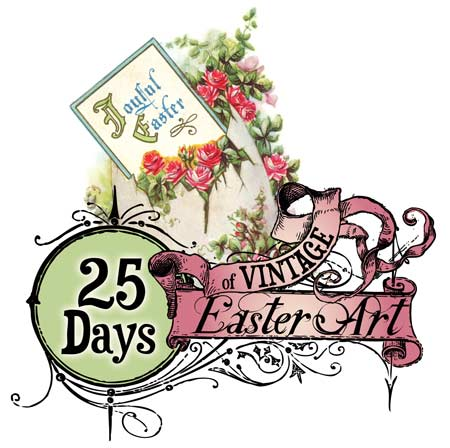 25 Days Of Vintage Easter Pictures Print-25 Days of Vintage Easter Pictures Printables-4