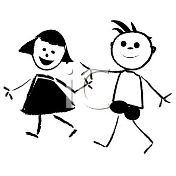 Cartoon Kids, A Oy And Girl-Cartoon kids, a oy and girl-5