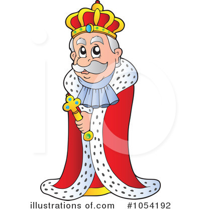 Royalty-Free (RF) King Clipart Illustration #1054192 by visekart