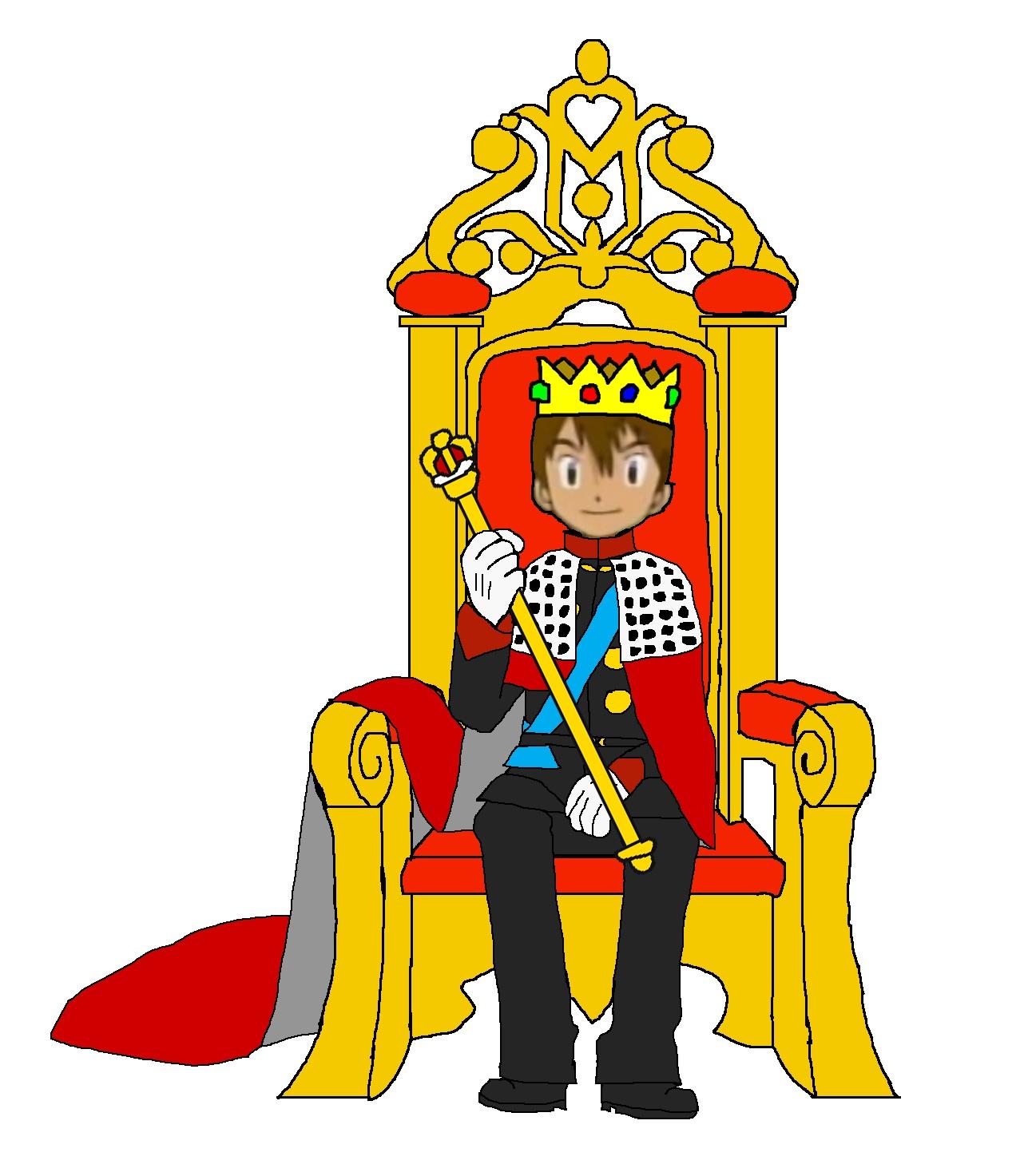 King On Throne Clipart-King On Throne Clipart-19