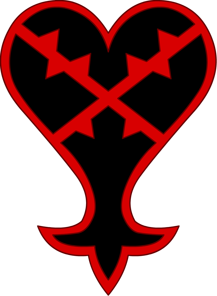 Heartless Emblem.png - Kingdom Hearts Clipart