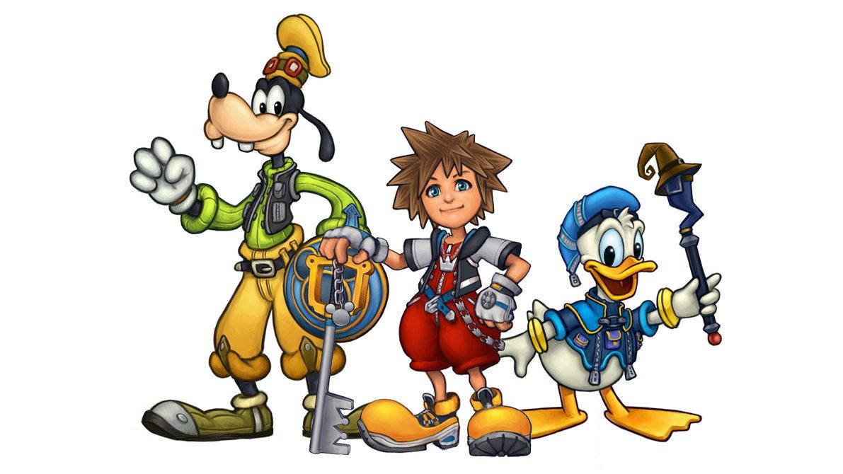 Kingdom Hearts Remix concept art by MarioManzanares ClipartLook.com