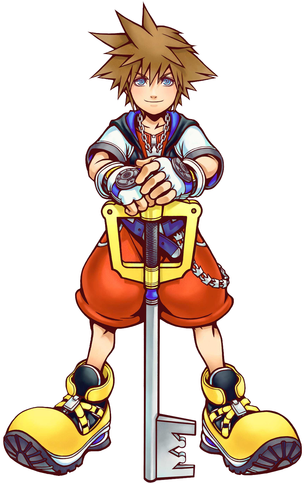 Sora 2 (Art) KH.png - Kingdom Hearts Clipart
