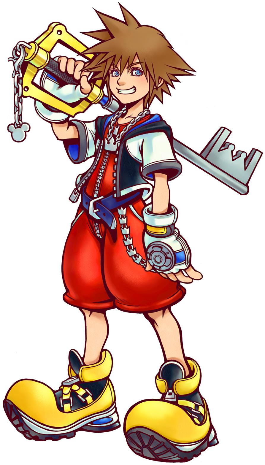 Sora - Kingdom Hearts Clipart