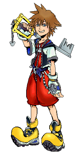 Sora - Kingdom Hearts by Conk - Kingdom Hearts Clipart