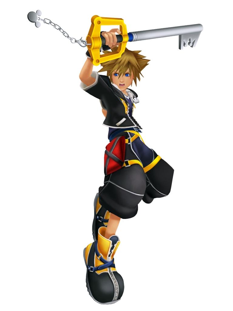 SoraSentiment.jpg - Kingdom Hearts Clipart