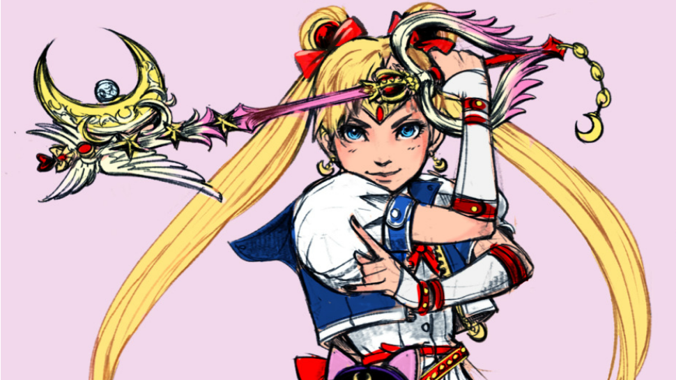 What if Sailor Moon was in Ki - Kingdom Hearts Clipart