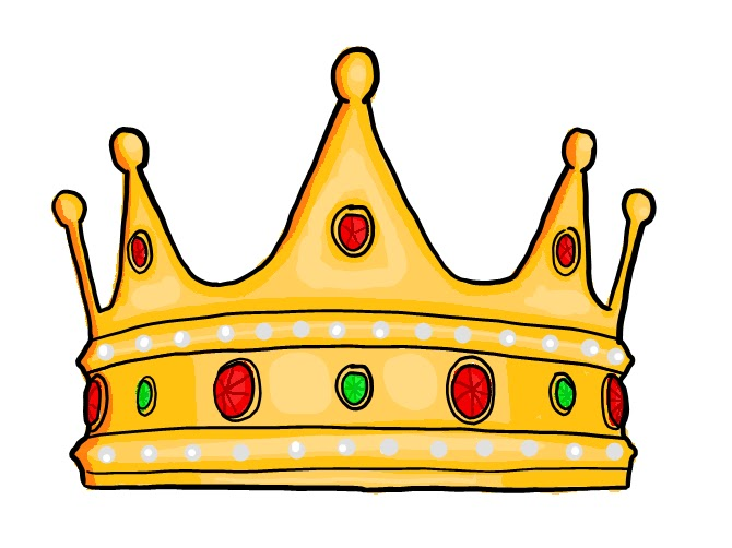 Kings Crown Template Clipart - King Crown Clipart