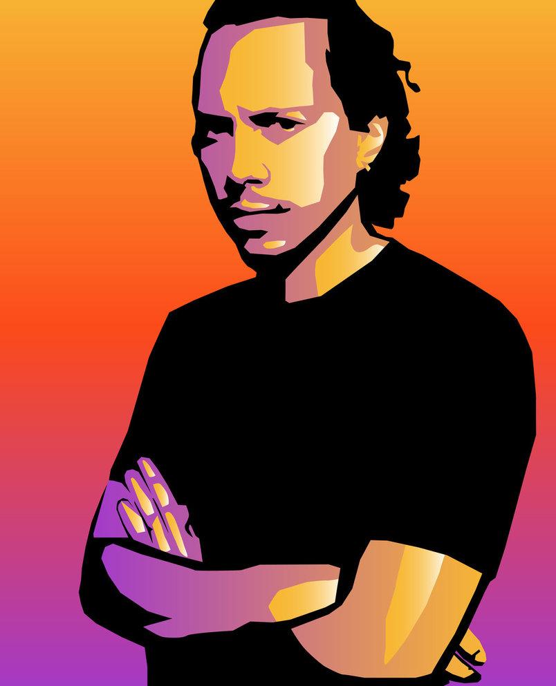 151/365 - Kirk Hammett by LouiseArnould ClipartLook.com