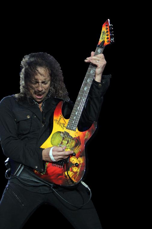Download PNG image - Kirk Hammett Png Clipart 477