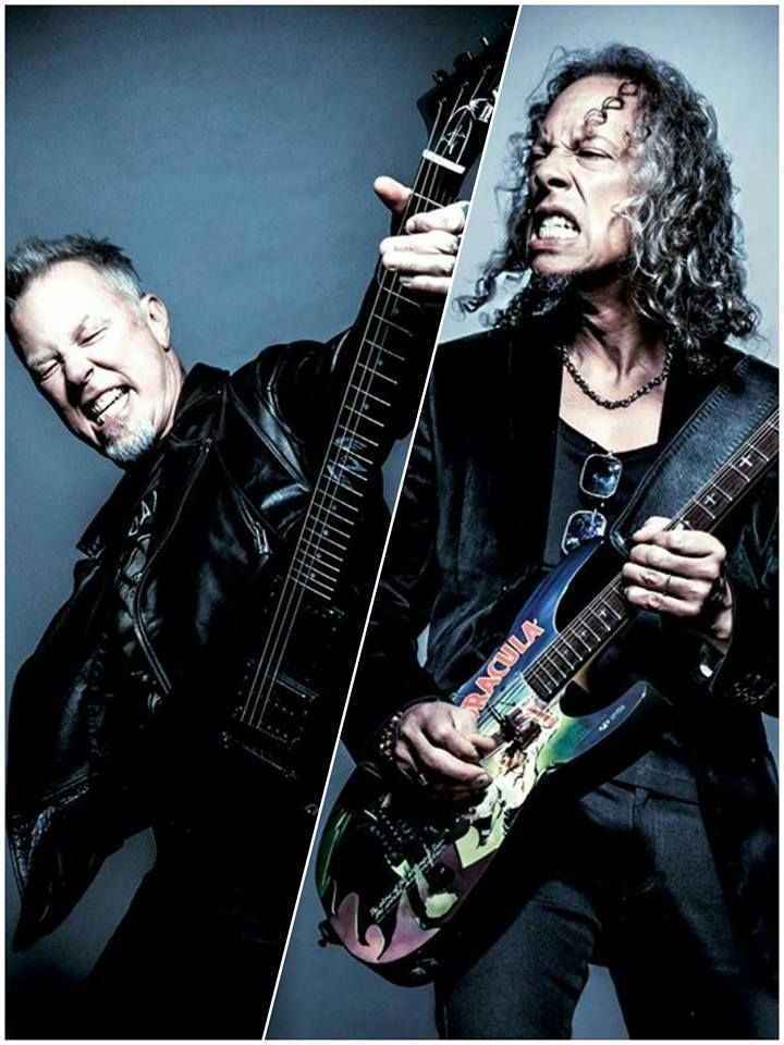 JAMES HETFIELD - KIRK HAMMETT - GUITAR WORLD