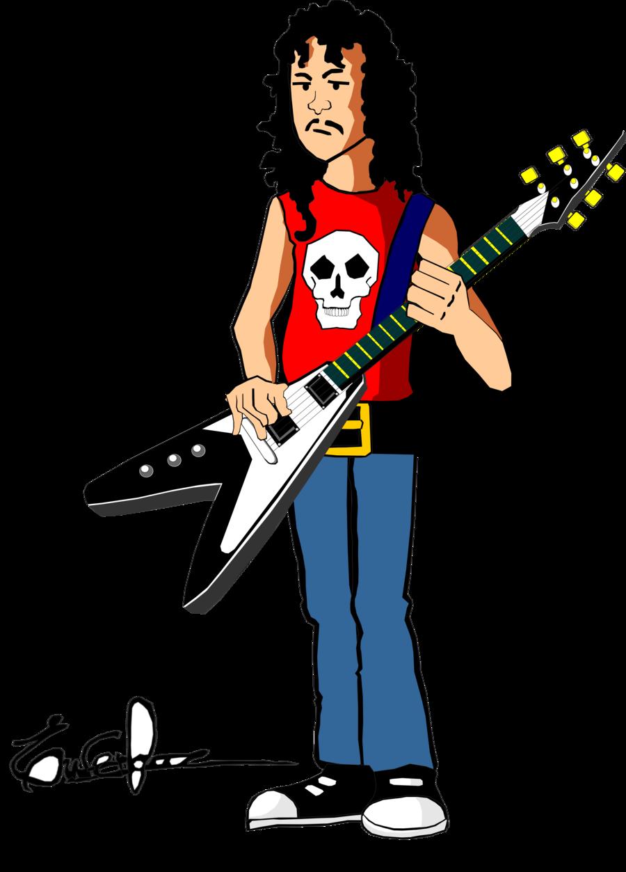 Kirk Hammet by maghneth Kirk Hammet by maghneth