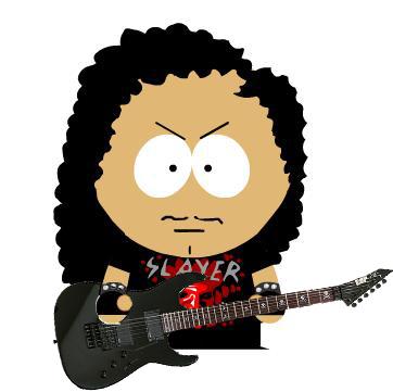 Kirk Hammett by Zyankali ClipartLook.com