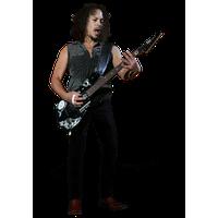 Kirk Hammett Transparent PNG Image