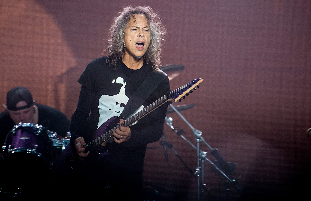 Metallicau0027s Kirk Hammett is brewing up something good