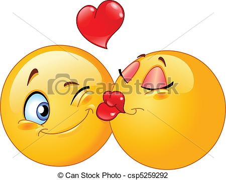 kiss Clipartby prawny2/2,037; Kissing emoticons