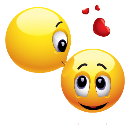 Kiss Smiley Transparent PNG