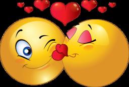 Kissing Couple Smiley Emoticon-Kissing Couple Smiley Emoticon-16