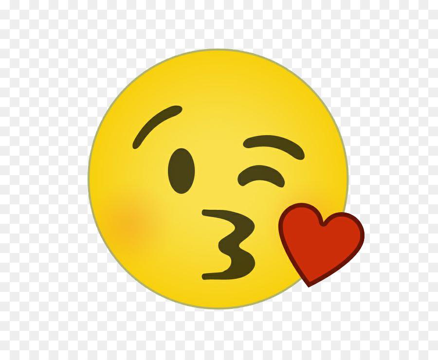 Smiley Emoticon Emoji Clip Art - Kiss Sm-Smiley Emoticon Emoji Clip art - Kiss Smiley PNG Clipart-18