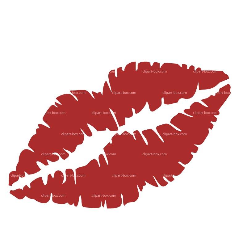 Kissing Lips Clipart Cliparth - Kissing Lips Clipart