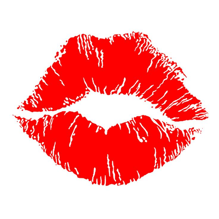 Kissy Lips Clip Art. Lips, Postage stamps and Icons .