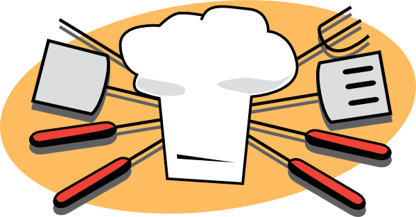 kitchen counter clipart - Barbecue Clip Art