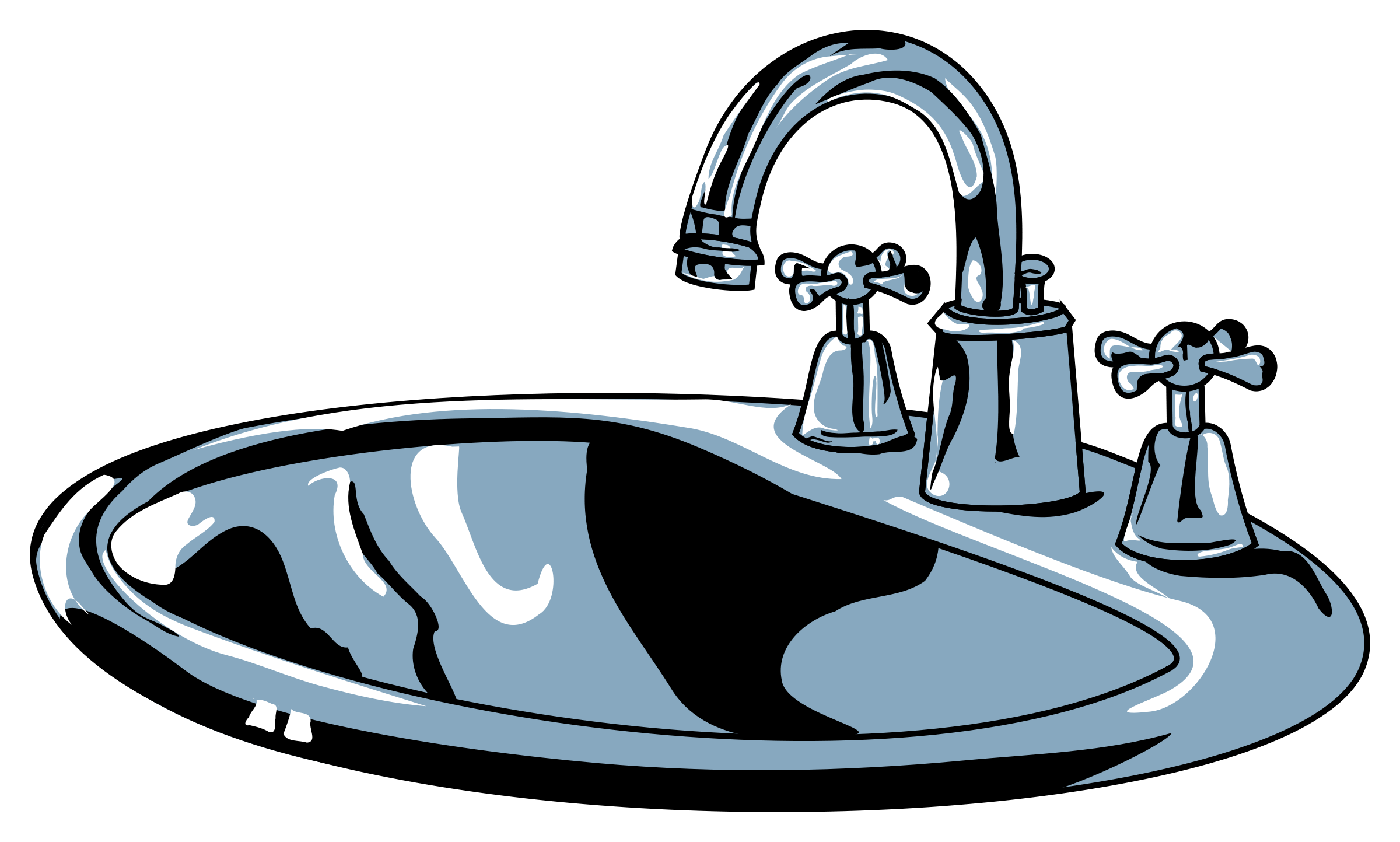 Kitchen Sink Clipart-kitchen sink clipart-7