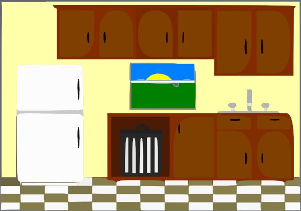 Kitchen Bright Clip Art At Clker Com Vector Clip Art Online Royalty