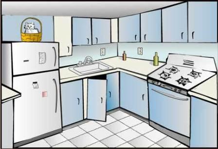 Kitchen Clipart Clipart