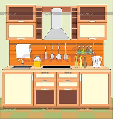 Kitchen Clipart clip art - Kitchen Clipart
