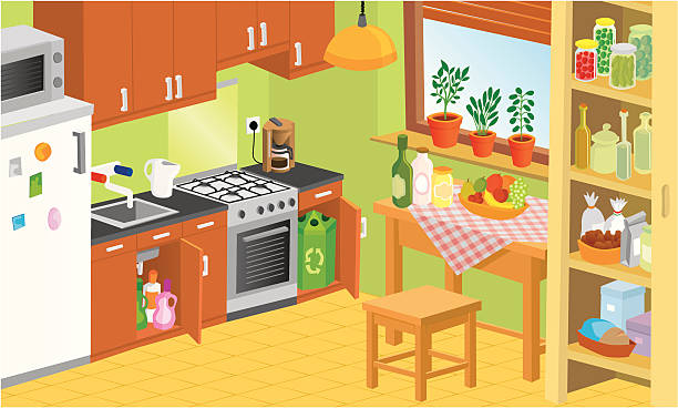 Kitchen Vector Art I