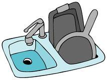 Kitchen Sink Royalty Free .-Kitchen Sink Royalty Free .-11