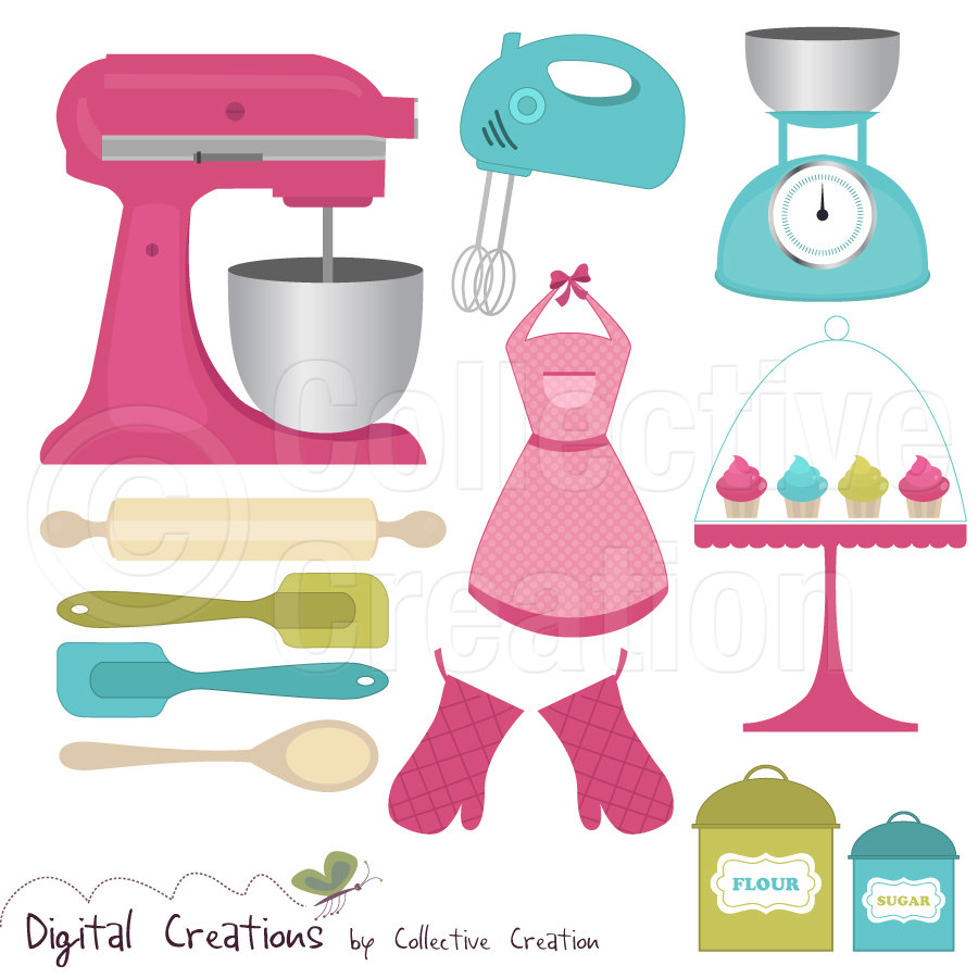 kitchen tools clip art - Free Large Images