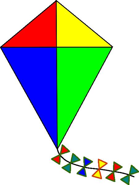 kite clipart-kite clipart-1
