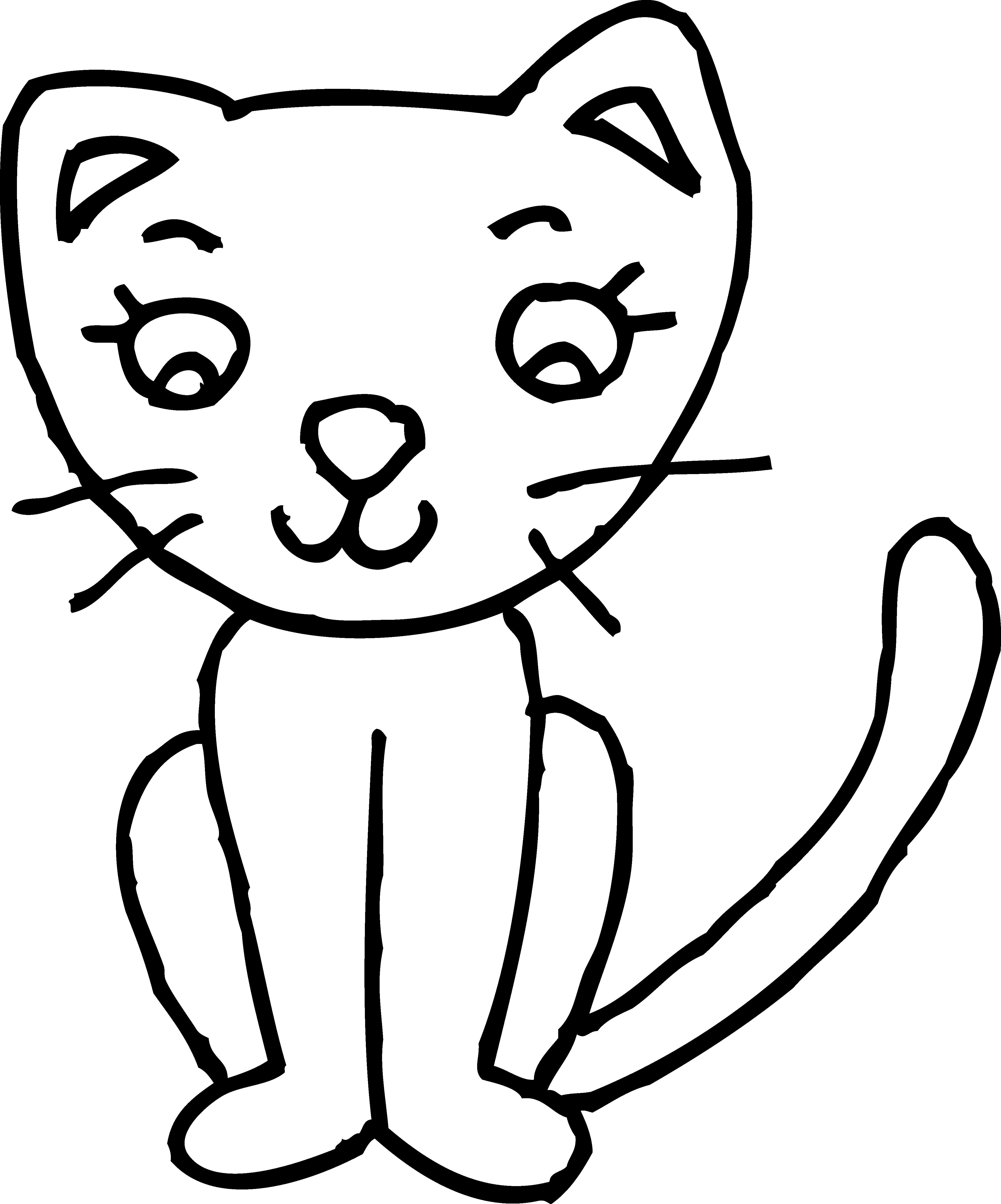 Kitten Playing Clipart-kitten playing clipart-17